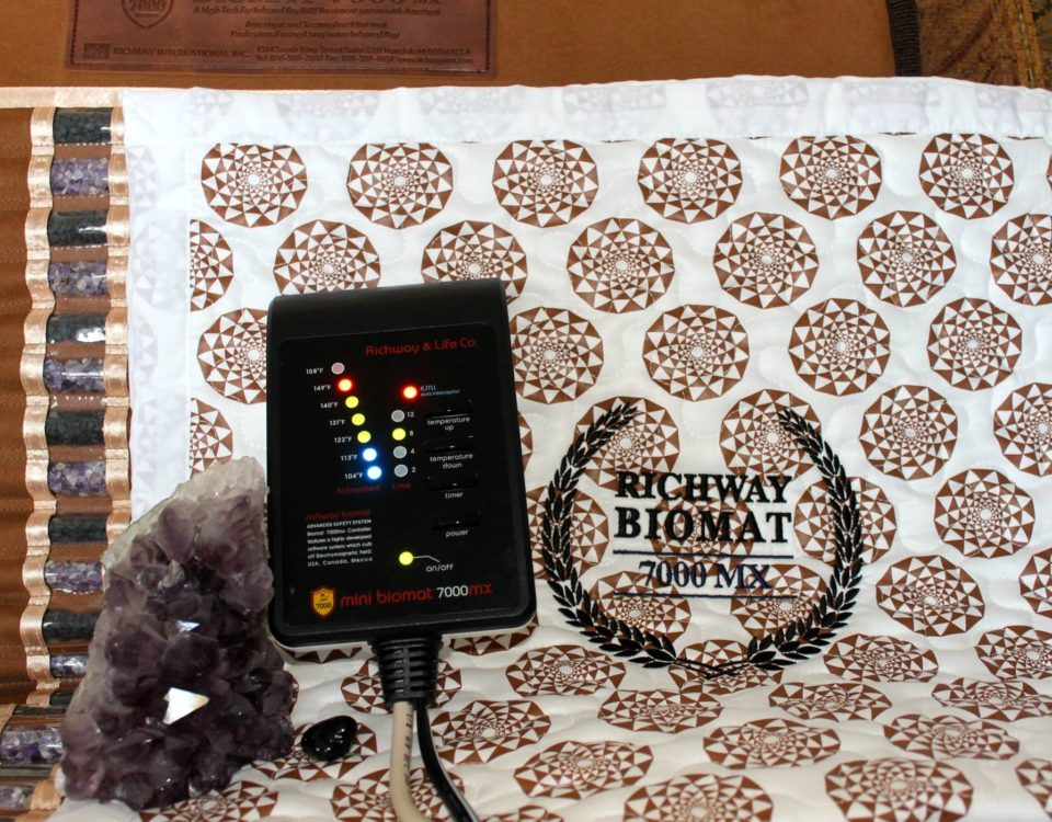 Biomat with cotton cover