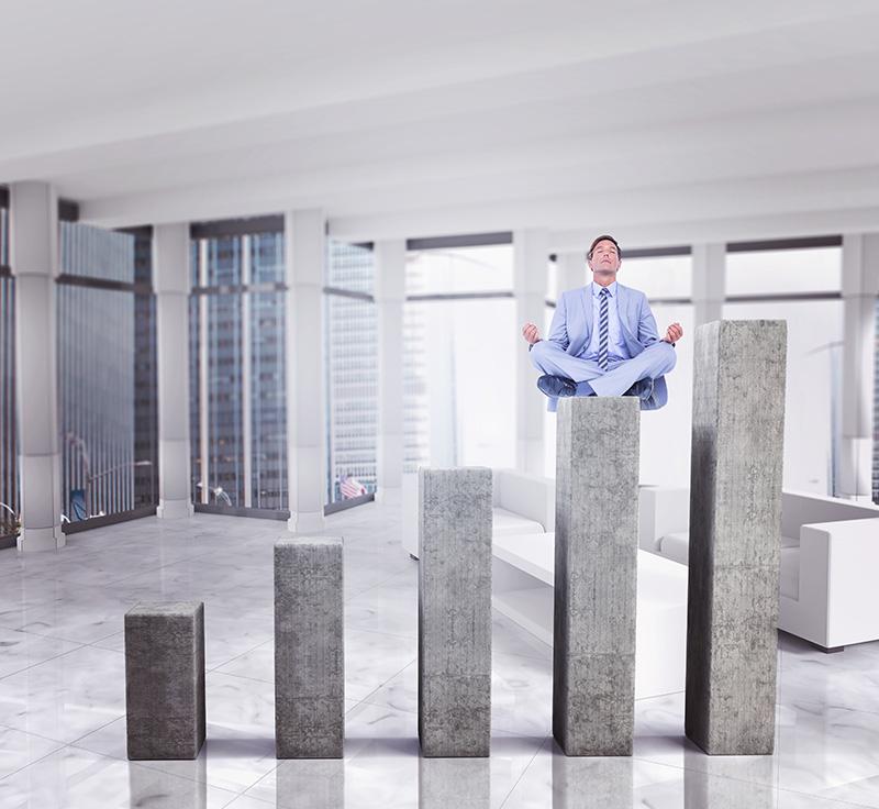 meditating way to more profits