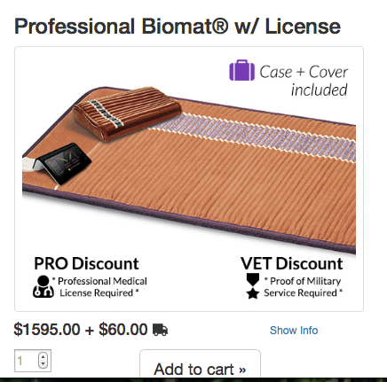 discount for Biomat