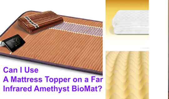 Biomat and common mattress topper examples