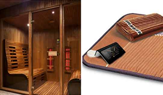 comparing Far Infrared Sauna and Infrared Heating pad