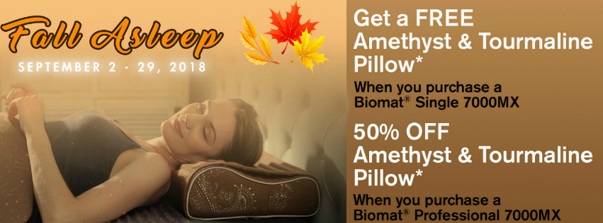 Fall sleep 2018 sale Biomat