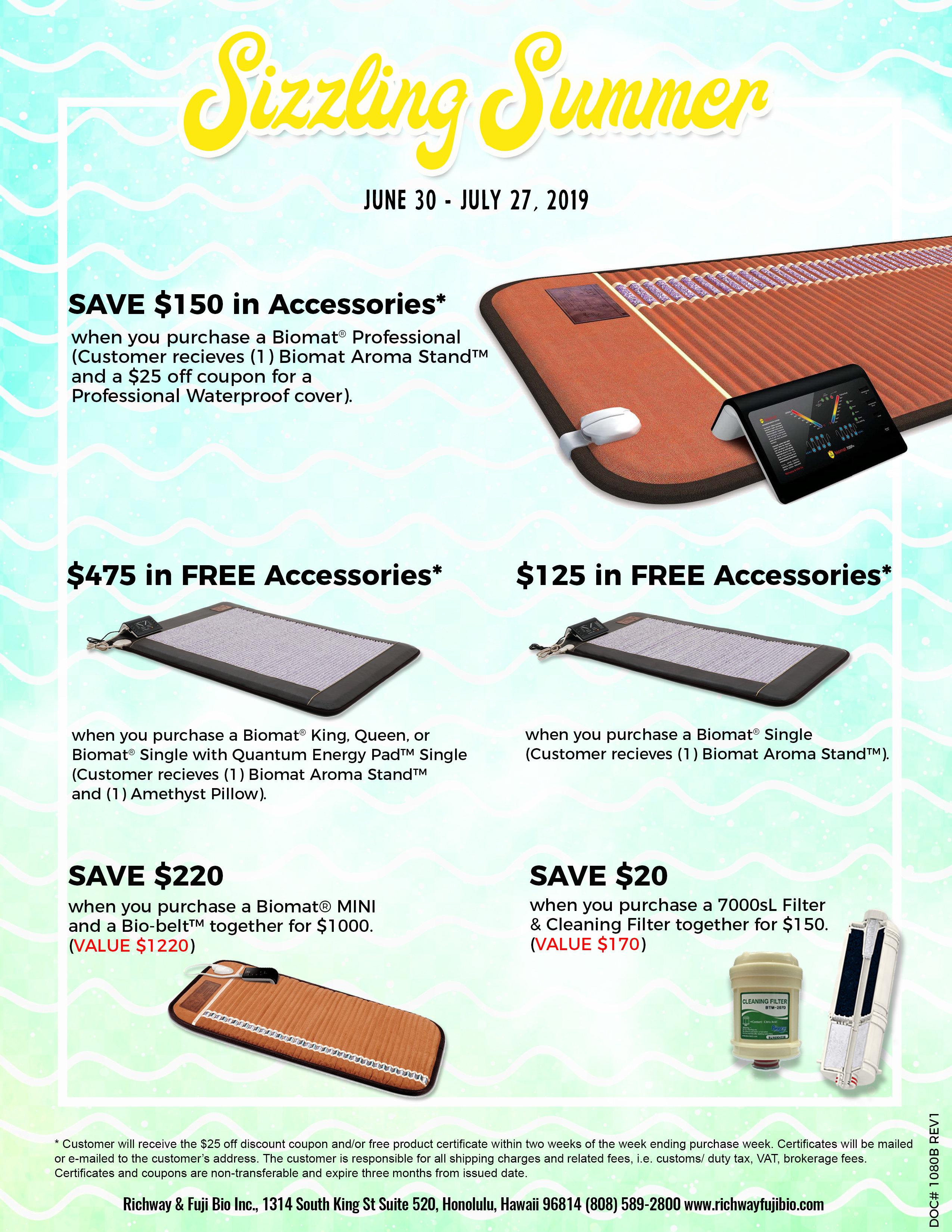 Richway Biomat Summer Sale 2019