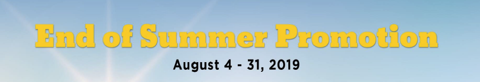Richway End of Summer Promotion